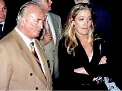 Marine le Pen et Franz Schonhuber