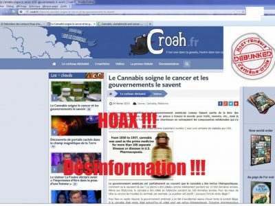 Croah cannabis et cancer