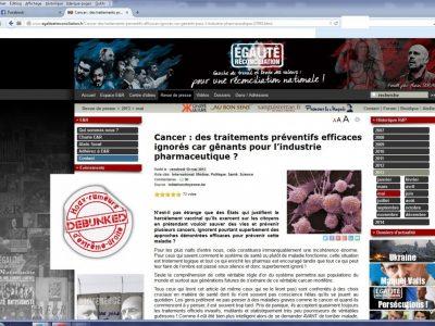 E&R les traitements préventifs contre le cancer