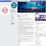 Facebook UPR classement en Divers 2014