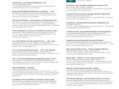 UPR Classement Divers sur Google