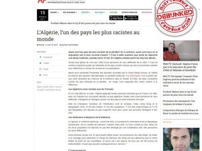 Focus Algérie une enquête lucide