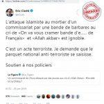 Ciotti: Affaire du commissariat de l'Eure