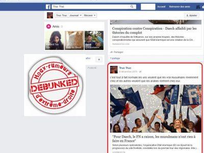 Le faux profil Daesh