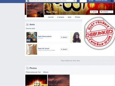 Le faux profil Daesh1