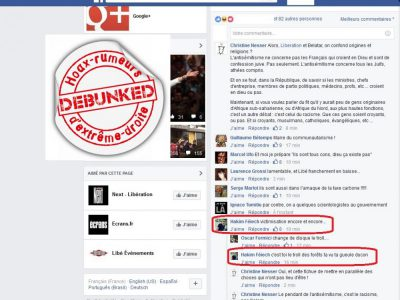 Le faux profil maghrébin antisémite