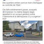 Marine le Pen: attaque du commissariat dans l'Eure