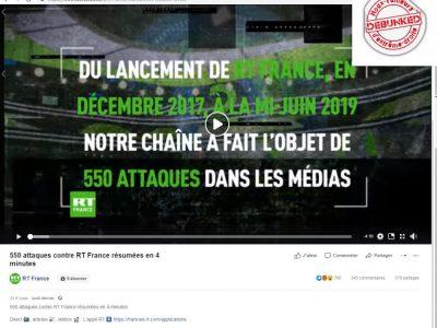RT: vidéo de propagande