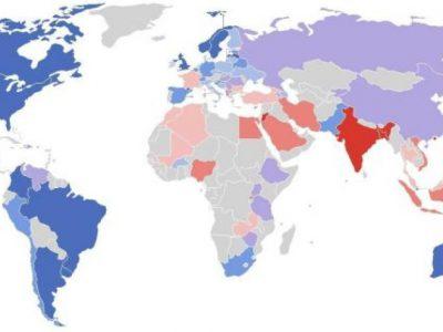 Carte mondiale du racisme