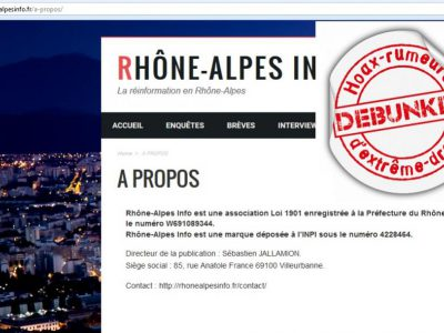 La direction de Rhöne Alpes infos