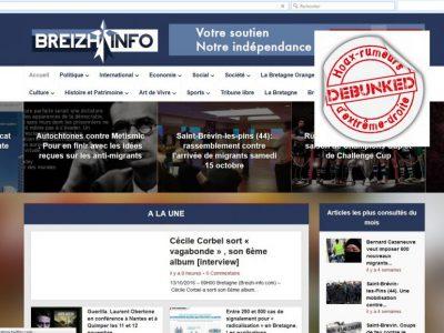 Breizh Info, site régionaliste d'extrême droite