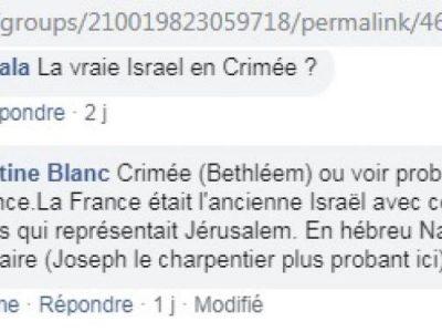 Croyances Israel Crimée France