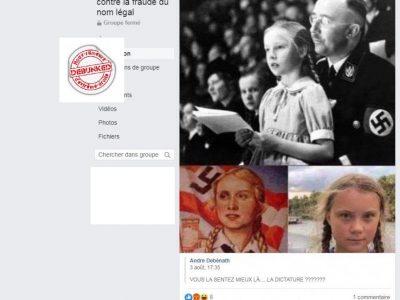 Greta Thumberg, propagande selon les complotistes