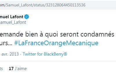 Les esquives de S. Lafont