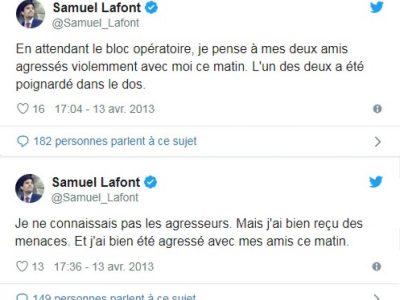 Annonce de S. Lafont